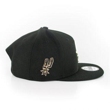 New Era 9Fifty San Antonio Spurs MNT State Snapback Hat Black
