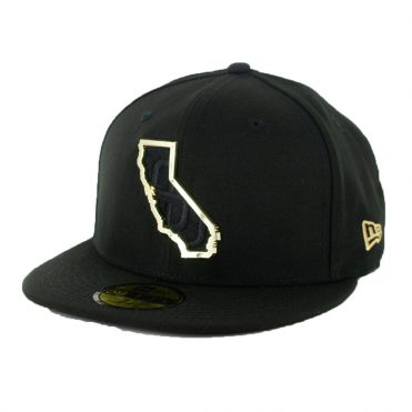 New Era 59Fifty San Diego Padres MNT State Fitted Hat Black