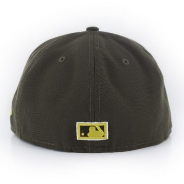 New Era 59Fifty San Diego Padres Cooperstown Friar Fitted Hat Brown