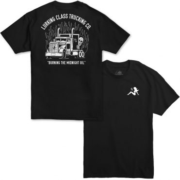 Sketchy Tank LC Trucking Co T-Shirt Black