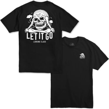 Sketchy Tank Let It Go T-Shirt Black