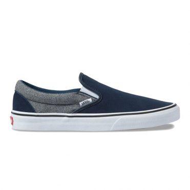 Vans Classic Slip-On Shoe Suiting Dress Blues