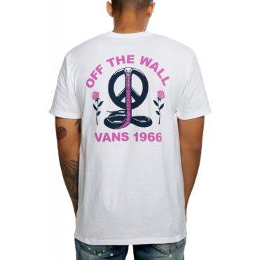 Vans Peace Cobra T-Shirt White