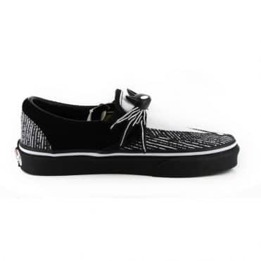 Vans x The Nightmare Before Christmas Classic Slip-on Shoe Jack Nightmare