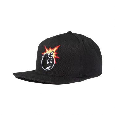The Hundreds Adam Snapback Hat Black