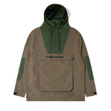 The Hundreds Ranger Anorak Jacket Olive