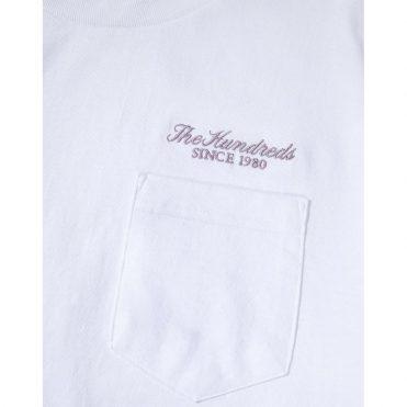 The Hundreds Rich Pocket T-Shirt White