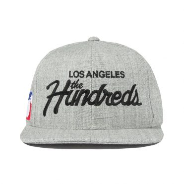 The Hundreds Team Snapback Hat Athletic Heather