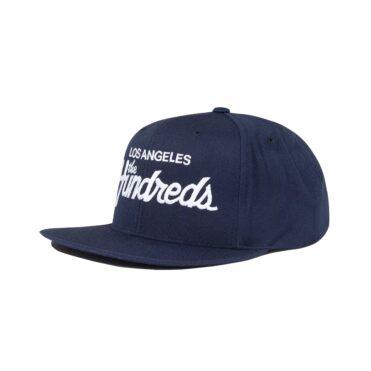 The Hundreds Team Snapback Hat Navy