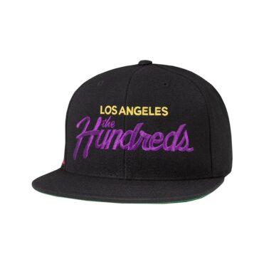 The Hundreds Team W19 Snapback Hat Black