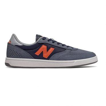 New Balance Numeric 440 Shoe Navy Grey Orange