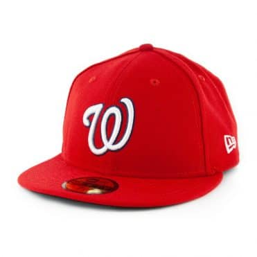 New Era Official 2019 World Series 59Fifty Washington Nationals Game Fitted Hat