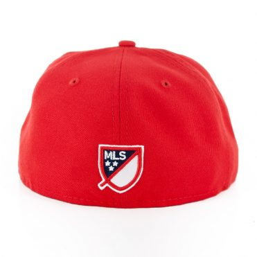 New Era 59Fifty New York Red Bulls Red Fitted Hat
