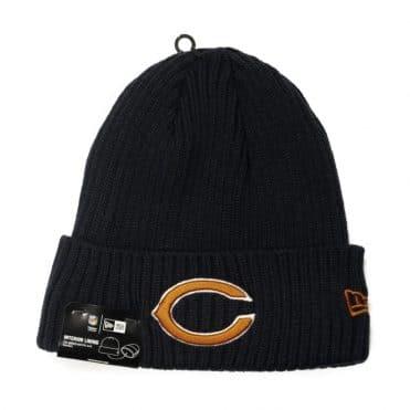 New Era Chicago Bears Core Classic Knit Beanie Navy