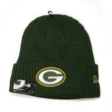 New Era Green Bay Packers Core Classic Knit Beanie Green
