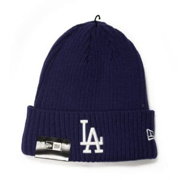 New Era  Los Angeles Dodgers Core Classic Knit Beanie Dark Royal
