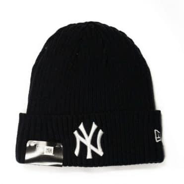 New Era New York Yankees Core Classic Knit Beanie Dark Navy
