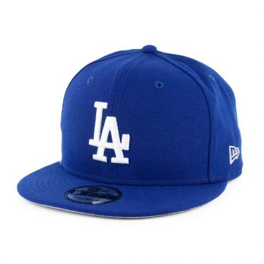 New Era 9Fifty Clear Feature Los Angeles Dodgers Snapback Hat Dark Royal