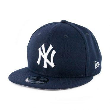 New Era 9Fifty Clear Feature New York Yankees Snapback Hat Dark Navy