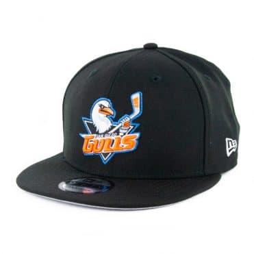 New Era 9fifty San Diego Gulls Snapback Hat Black