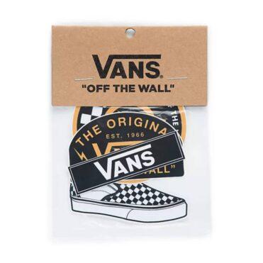 Vans Black Gold Sticker Pack