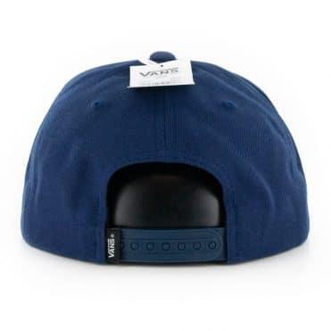 Vans Bolt Action Snapback Hat Dress Blue