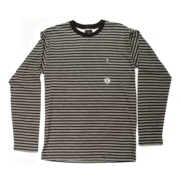 Vans Striped Long Sleeve Shirt Black