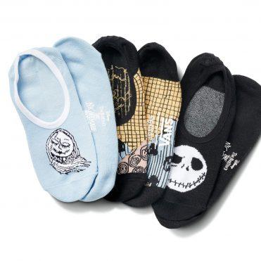 Vans x The Nightmare Before Christmas Sally And Jack 3 Pack Socks Sally Patchwork Nightmare