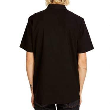Volcom Everett Oxford Shirt New Black