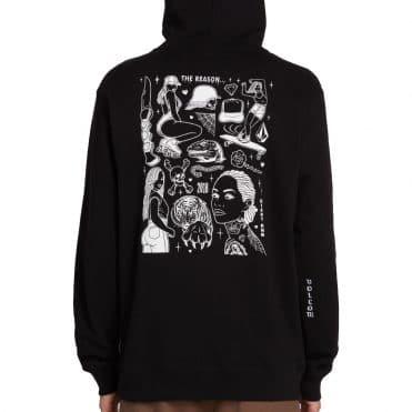 Volcom Mike Giant Pullover Sweatshirt Black