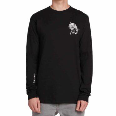 Volcom Mike Giant Long Sleeve T-Shirt Black