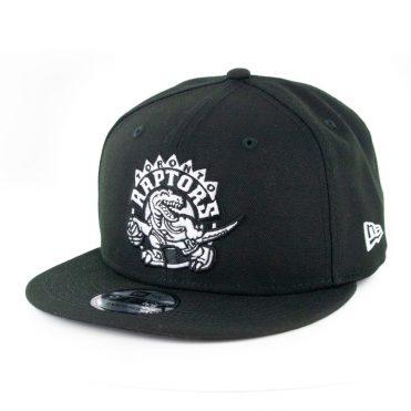 New Era 9Fifty Toronto Raptors Basic Snapback Hat Black