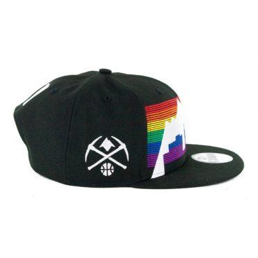 New Era 9Fifty Denver Nuggets City Series 2019 Snapback Hat Black