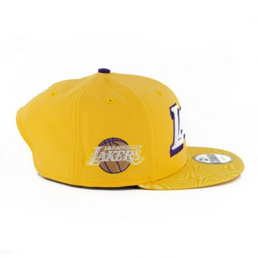 New Era 9Fifty Los Angeles Lakers City Series 2019 Snapback Hat Yellow