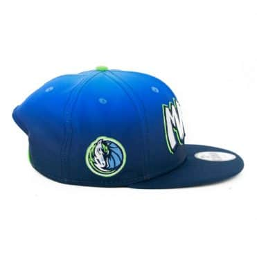 New Era 9Fifty Dallas Mavericks City Series 2019 Snapback Hat Blue