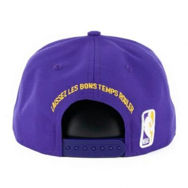 New Era 9Fifty New Orleans Pelicans City Series 2019 Snapback Hat Purple