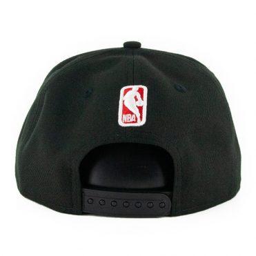 New Era 9Fifty Chicago Bulls Logo Change Snapback Hat Black