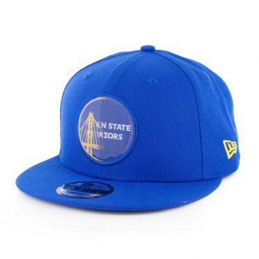 New Era 9Fifty Golden State Warriors Logo Change Snapback Royal Blue