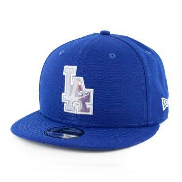 New Era 9Fifty Los Angels Dodgers Logo Change Snapback Dark Royal