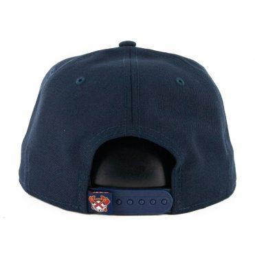New Era 9Fifty Atlanta Braves Logo Elements Snapback Hat Dark Navy