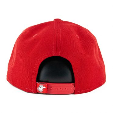 New Era 9Fifty Cincinnati Reds Logo Elements Snapback Hat Red