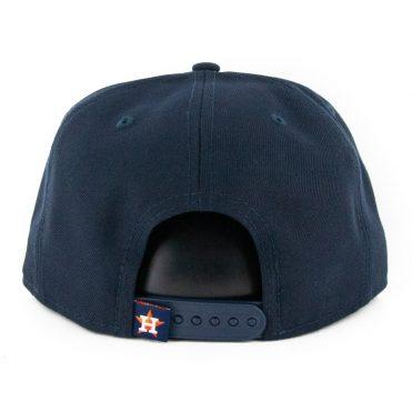 New Era 9Fifty Houston Astros Logo Elements Snapback Hat Dark Navy