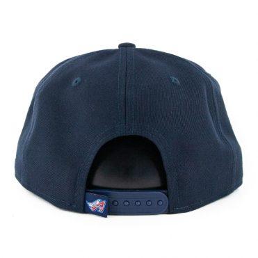 New Era 9Fifty Los Angeles Angels Logo Elements Snapback Hat Dark Navy