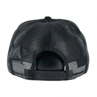 New Era 9Fifty Portland Trail Blazers Stripe Snapback Hat Black White
