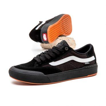 Vans Berle Pro Shoe Black White
