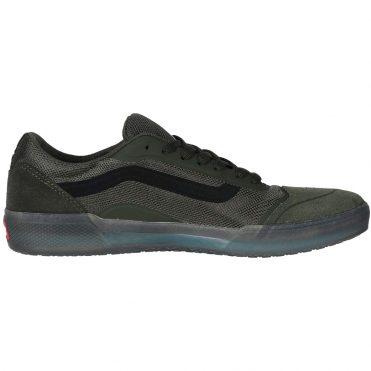Vans Rainy Day Ave Pro Shoe Forest Night Black