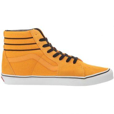 Vans Sk8-Hi Sport Stripes Shoe Cadmium Yellow Black