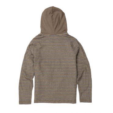 Volcom Chiller Pull Over Hooded Sweatshirt Brindle