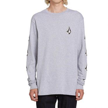 Volcom Deadly Stones Long Sleeve T-Shirt Grey