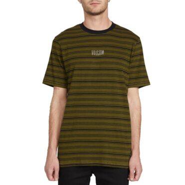 Volcom Fluxer Crew Shirt Sonic Green